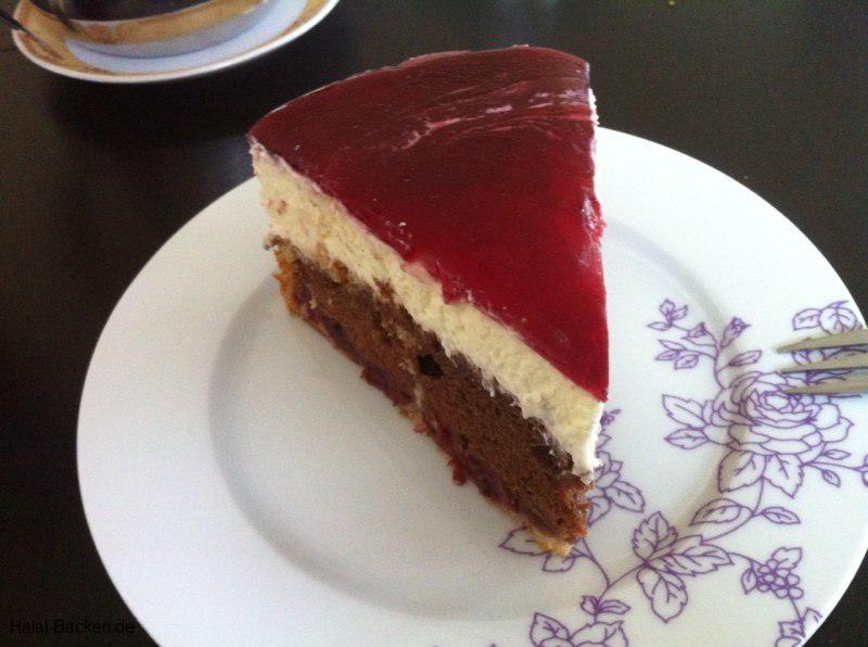 Schokokirschkuchen Mit Quark Sahne Creme Halal Backen