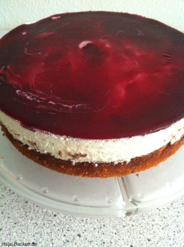 Schoko kirsch kuchen mit quark