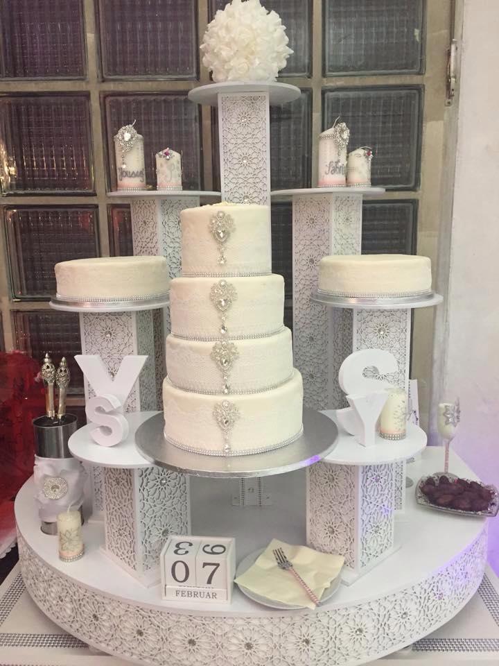 Hochzeitstorten Archives - Halal Backen